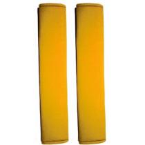 Poťah bezpečnostných pásov žlté 2ks