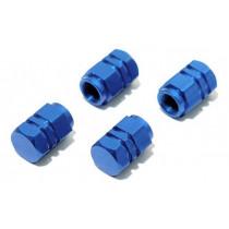 Ozdobné kryty ventilov modré