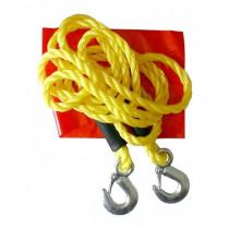 Ťažné lano 3000 kg s karabínami