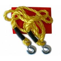 Ťažné lano 5000 kg s karabínami