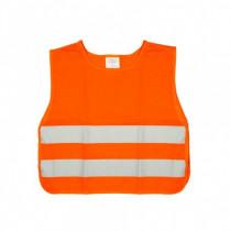 Vesta výstražná oranžová detská