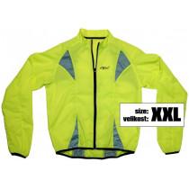 Bunda XXL reflexná žltá S.O.R.