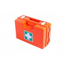 Kufrík prvej pomoci plastový s prepážkami