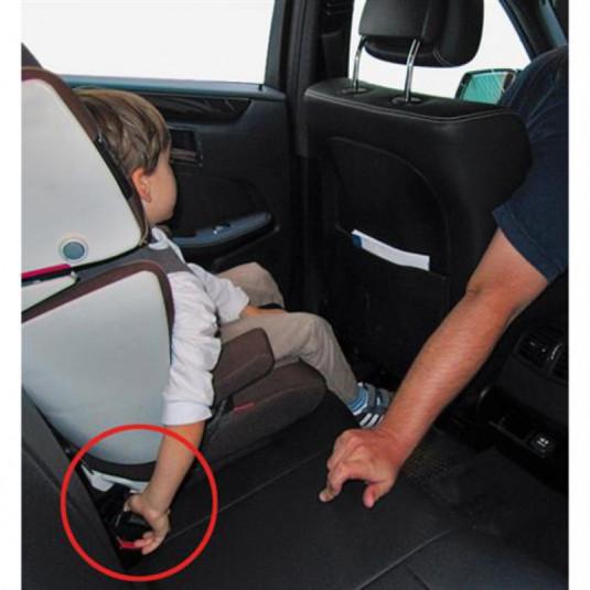 Alarm bezpečnostného pásu