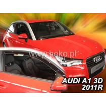 Deflektory AUDI A1 3D (od 2010-2018)