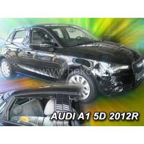 Deflektory AUDI A1 5D (+zadné) (od 2012-2018)
