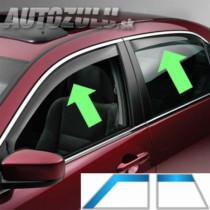 Deflektory AUDI A3 Sportback 5D (+zadné) (2004-2012)