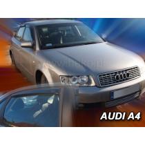 Deflektory AUDI A4 4D (+zadné) Sedan (1995-2001)