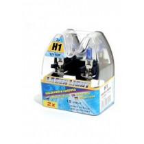 Halogénová žiarovka H1 12V 55W BIELY LASER 2ks