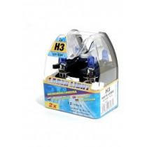 Halogénová žiarovka H3 12V 55W BIELY LASER 2ks
