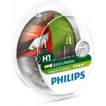 Žiarovky Philips H1,12V LongLife EcoVision 2ks