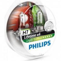 Žiarovky Philips H7 12V LongLife EcoVision 2ks