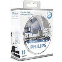 Žiarovky Philips H1 12V sada White Vision+W5W 2ks