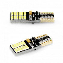 LED žiarovky 2ks T10 24 SMD LED