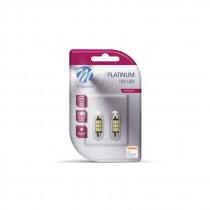 LED C5W 41mm 9xSMD5630 12V White PLATINUM Cambus
