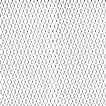 Hliníková mriežka strieborná, oko 4x13mm