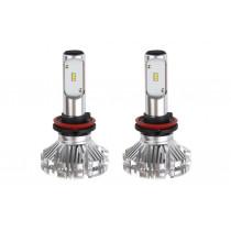 LED žiarovky hlavného svietenia H8/H9/H11 SX Séria AMiO (2ks)