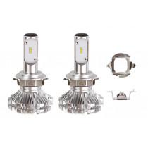 LED žiarovky hlavného svietenia H7-6 SX Séria AMiO (2ks)