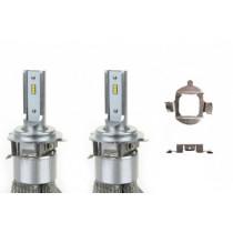 LED žiarovky hlavného svietenia H7-1 50W RS+ Slim Series (2ks)