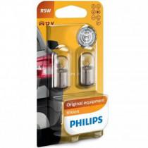 Žiarovky Philips R5W 12V 2ks