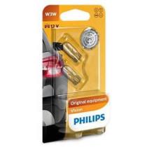 Žiarovky Philips W3W 12V 2ks
