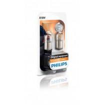 Žiarovky Philips R10W 12V 2ks