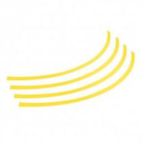 """Farebný lem 14""""-16"""" diskov, žltý"""