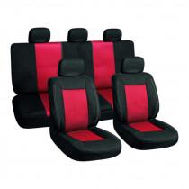 Autopoťah červeno-čierny
