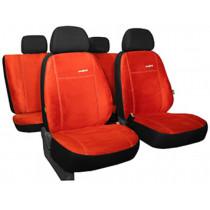 Autopoťahy Comfort tehlovo červené (alcantara)