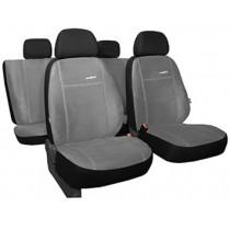 Autopoťahy Comfort slabo šedé (alcantara)