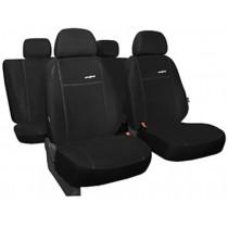 Autopoťahy Comfort čierne (alcantara)
