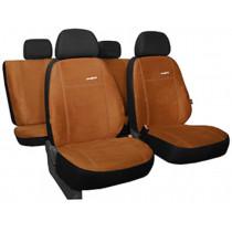 Autopoťahy Comfort hnedé (alcantara)