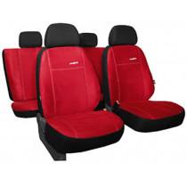 Autopoťahy Comfort červené (alcantara)
