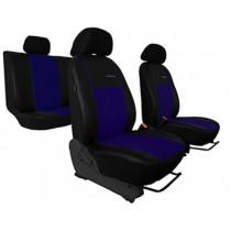 Autopoťahy Exclusive Alcantara modro-čierne (Alcantara-koža)