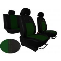 Autopoťahy Exclusive Leather zeleno-čierne (koža)