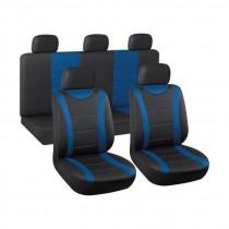 Autopoťah čierny/modrý