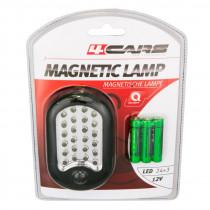 Pracovná lampa s magnetom, 24+3 LED MYDLO
