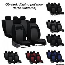 Poťahy pre AUDI A1 SPORTBACK 5D (od 2011-2018) VIP-B3 (textil)