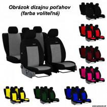 Poťahy pre AUDI A1 SPORTBACK 5D (od 2011-2018) Elegance (velour-velour)