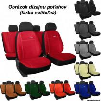 Poťahy pre AUDI A1 SPORTBACK 5D (od 2011-2018) Comfort (Alcantara)