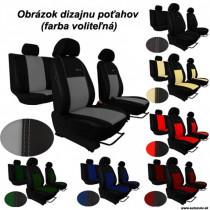 Poťahy pre AUDI A1 SPORTBACK 5D (od 2011) Exclusive Leather (koža)