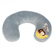 Mini vankúšový golier Monkey sivý (od 3 rokov)