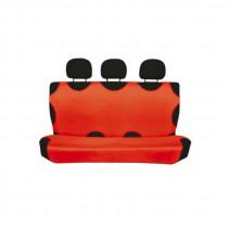 Bavlnené autotričko zadné červené