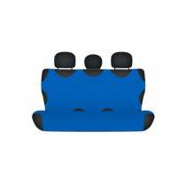 Bavlnené autotričko zadné modré