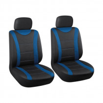 Autopoťah čierny/modrý 2ks