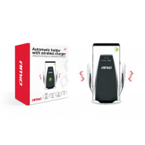 Automatický držiak telefónu s bezdrôtovým indukčným nabíjaním PHW-01