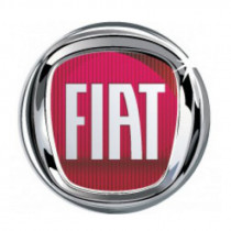 Samolepky živicové 3D Fiat červený 4ks