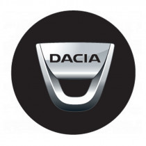 Samolepky živicové 3D DACIA 4ks