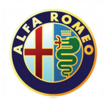 Samolepky živicové 3D ALFA ROMEO 4ks