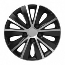 Puklice 14 RAPIDE silver and black